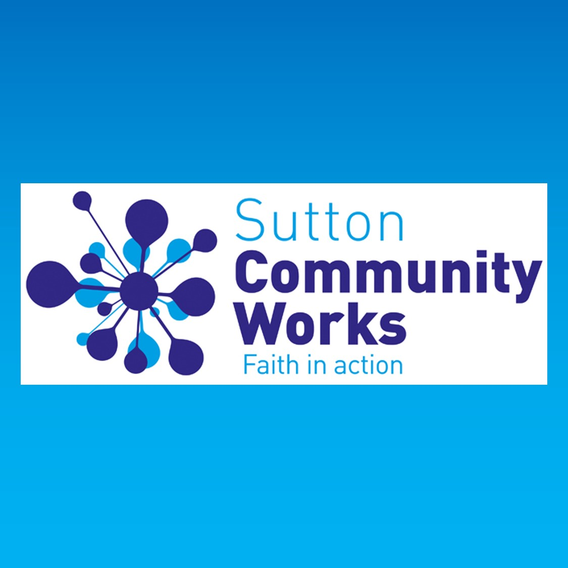 *Sutton Community Works*Sutton Community Works mission is to alleviate poverty, reduce fear of crime, tackle social isolation, joblessness and homelessness. We do this through projects such as Foodbank, Street & School Pastors, Job club, a befriending scheme for over 65's and a winter shelter. We are directly supported by 20 churches across the borough and our 150 volunteers are drawn from even more churches across the borough. A key aim is to engage with local partners including the police, the council and other agencies to identify and meet needs and encourage the local church to put faith into action. Find out more at suttoncommunityworks.org or contact Ian Ayres ianlayres@aol.com